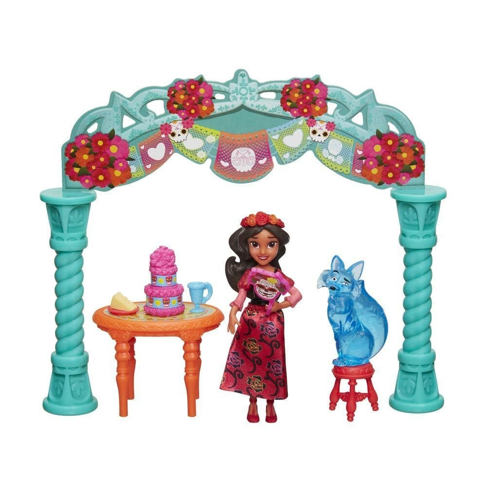 Set cu figurine Disney Princess Elena din Avalor - Elena la festival