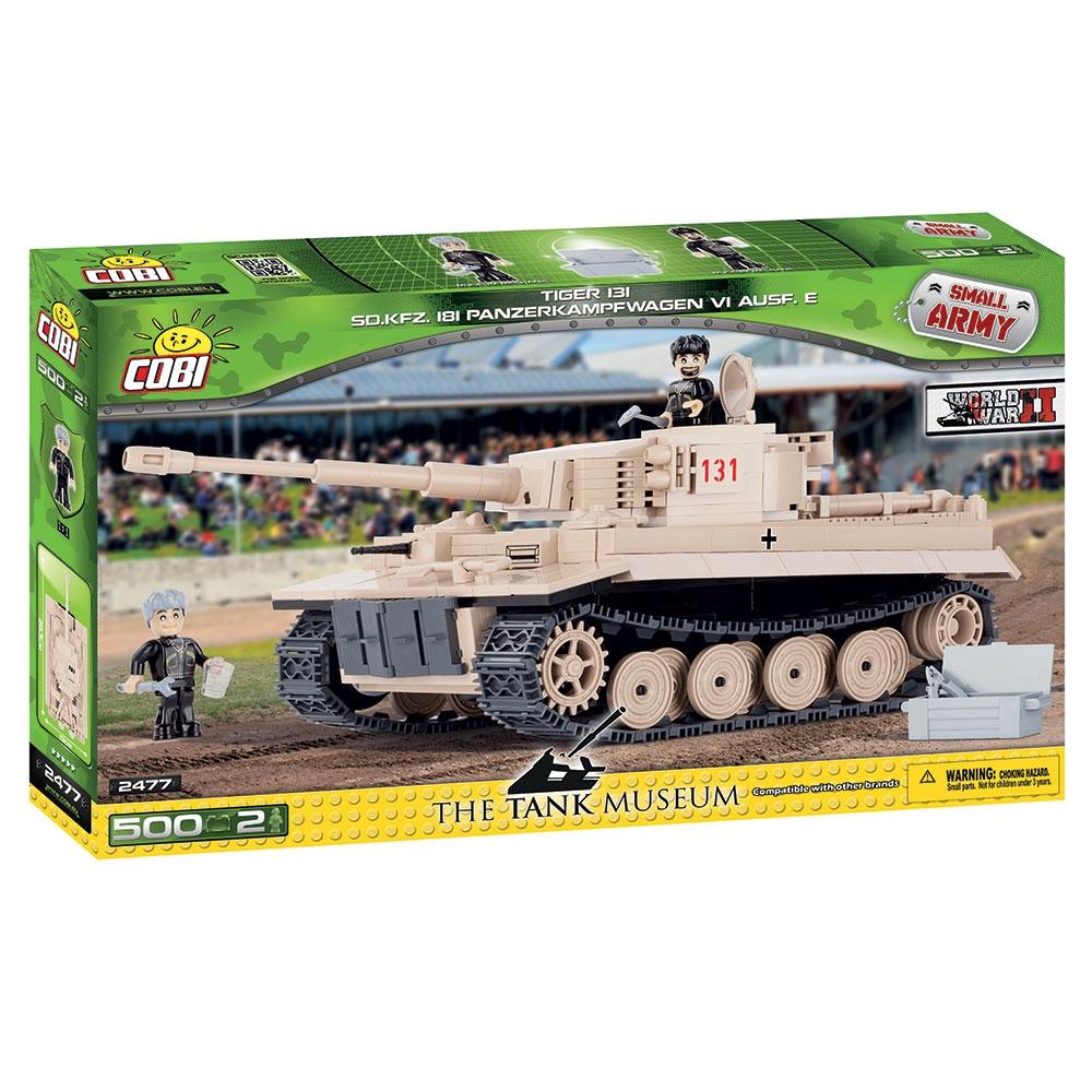 set de constructie cobi small army world war ii - tanc tiger 131