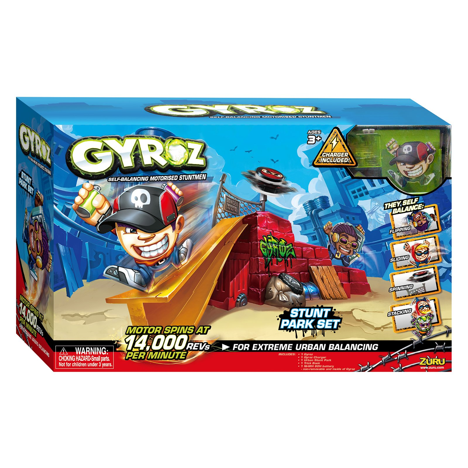 set de joaca cu acumulatori - figurine gyroz