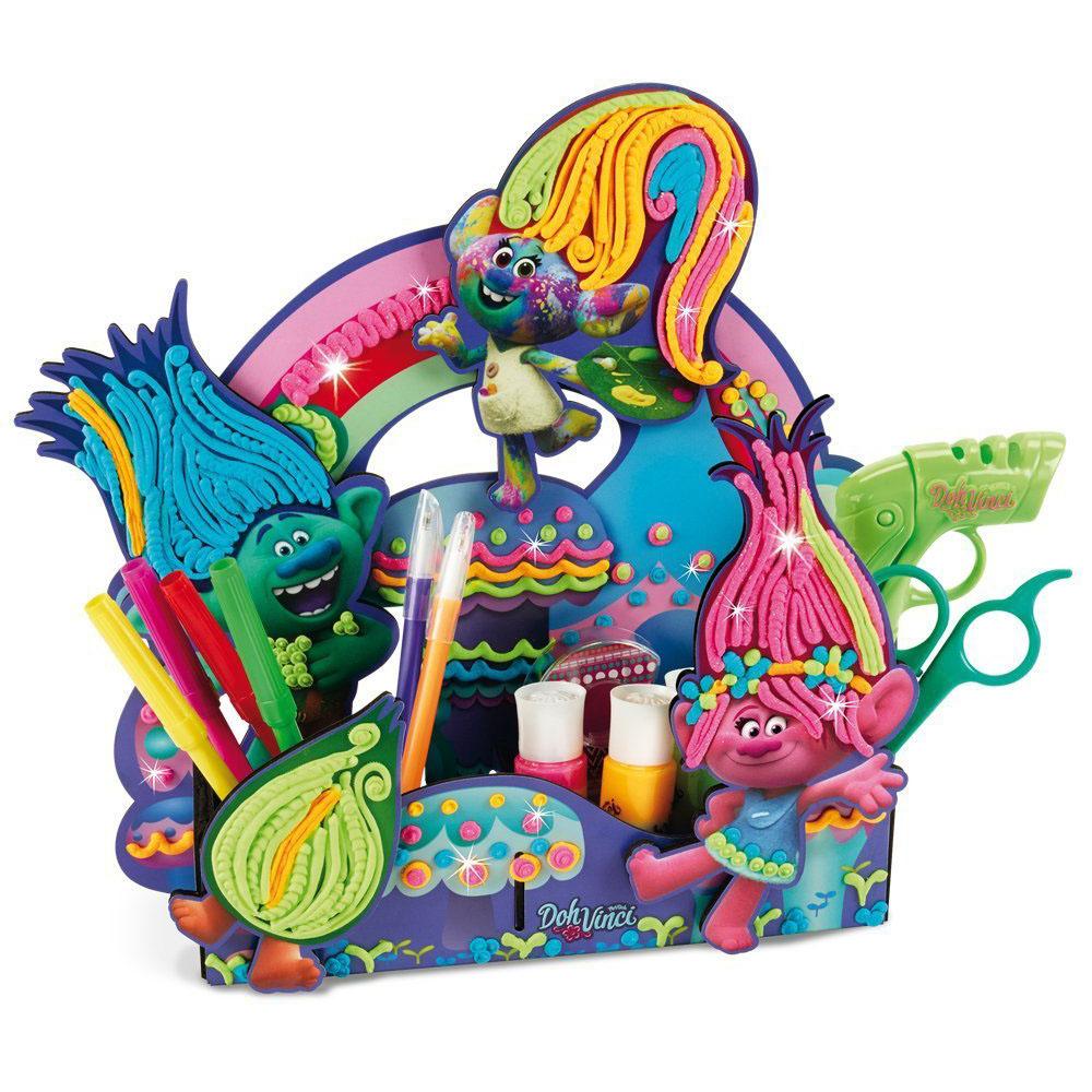 set de modelare dohvinci trolls pentru decorarea biroului