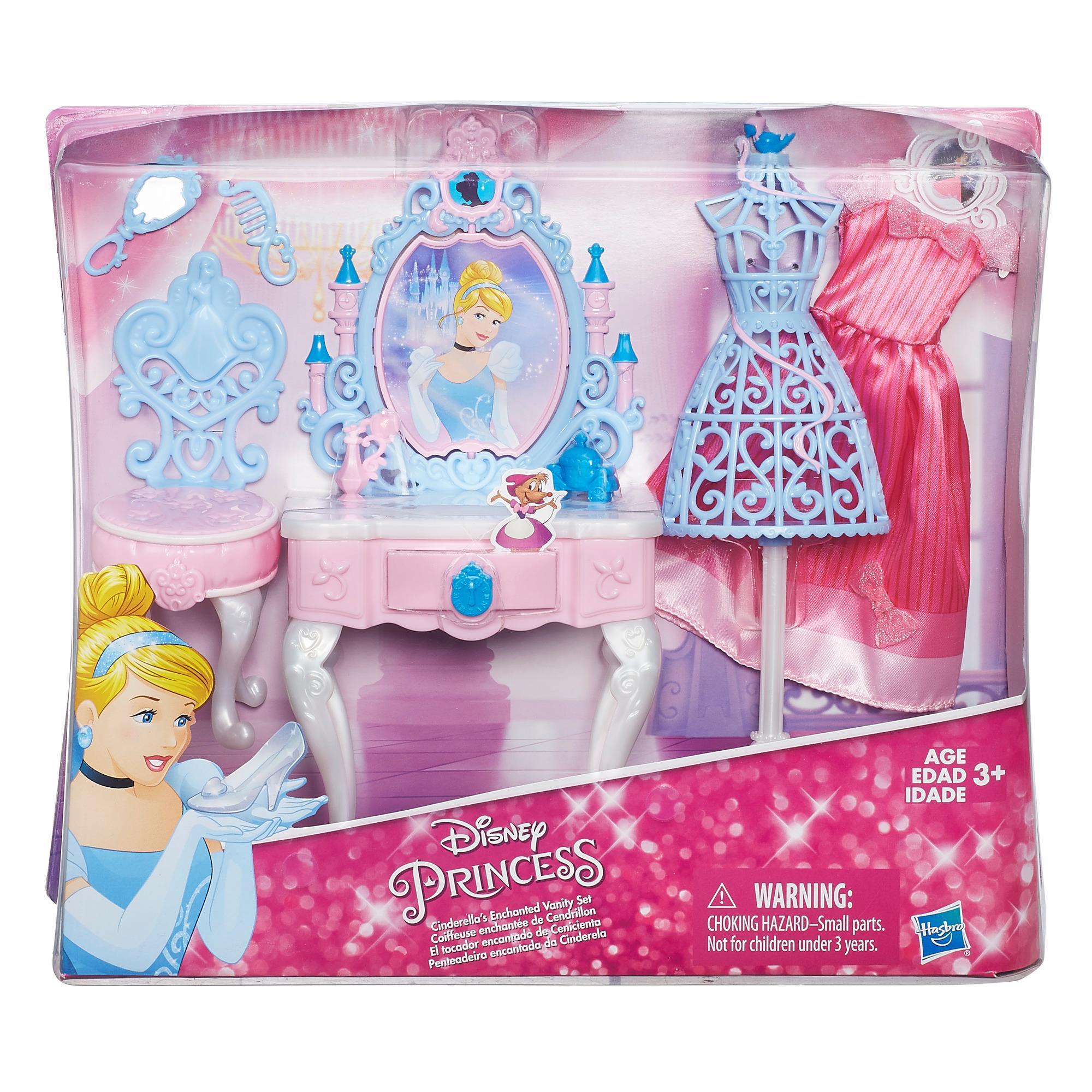 Set Disney Princess Masa De Toaleta Si Accesorii Papusa Cenusareasa