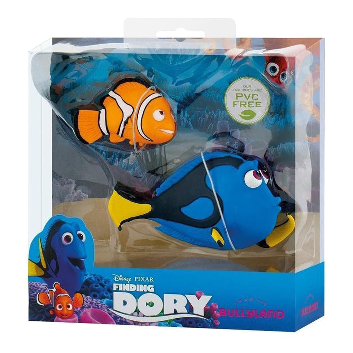 set doua figurine finding dory - dory & nemo
