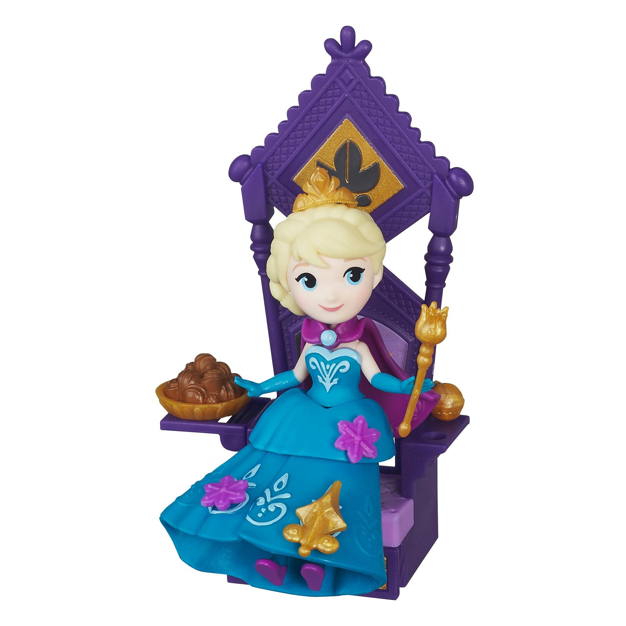 Set figurina Disney Frozen - Elsa si tronul