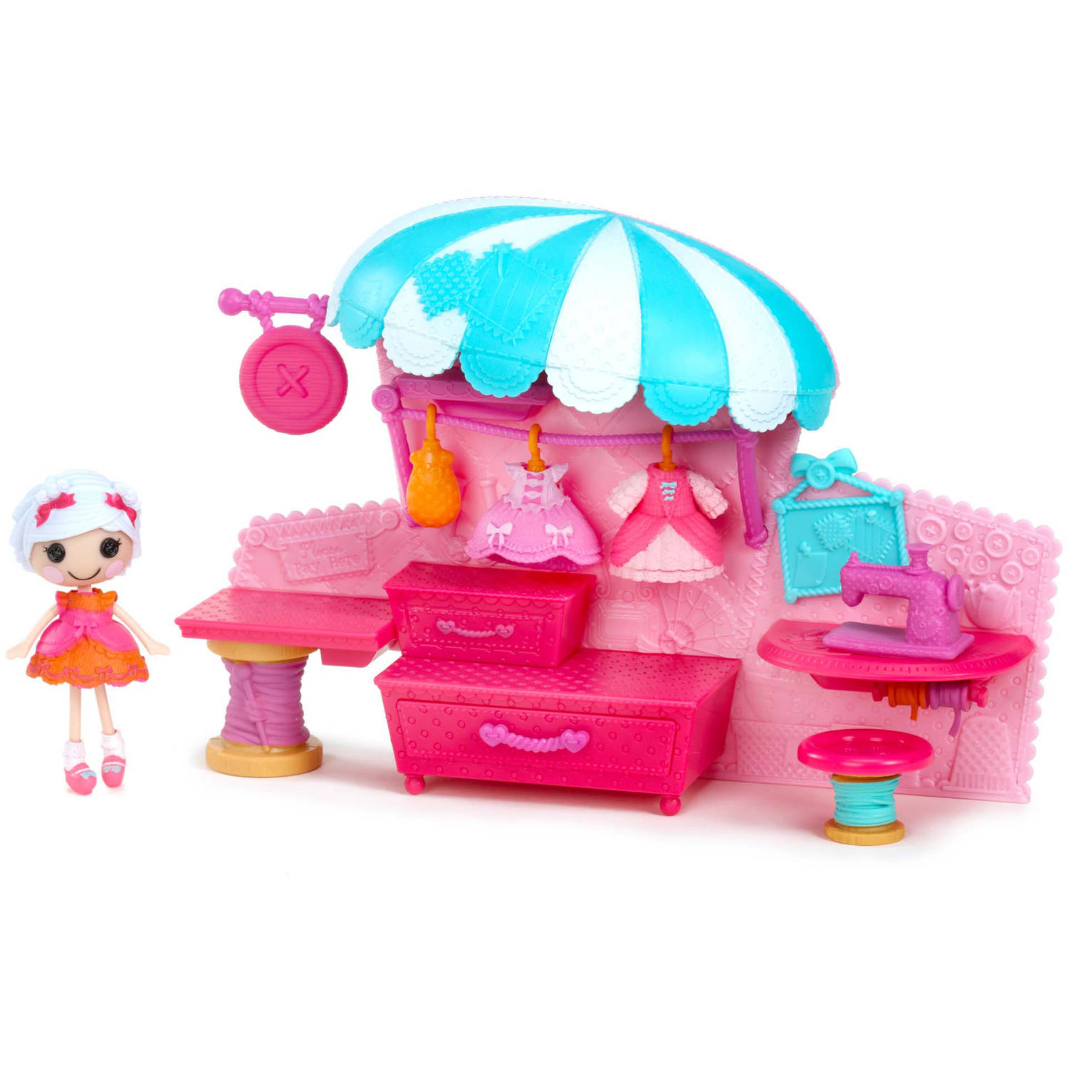 set figurina lalaloopsy minis colectia style 'n' swap - boutique