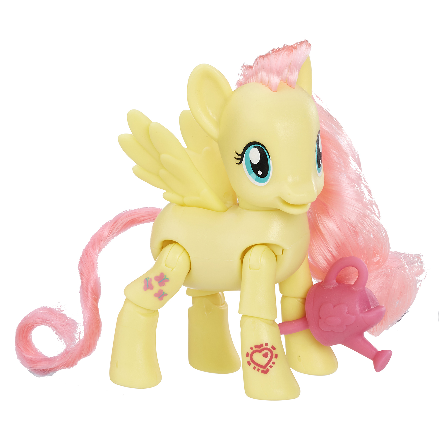 set figurina my little pony - fluttershy culege flori