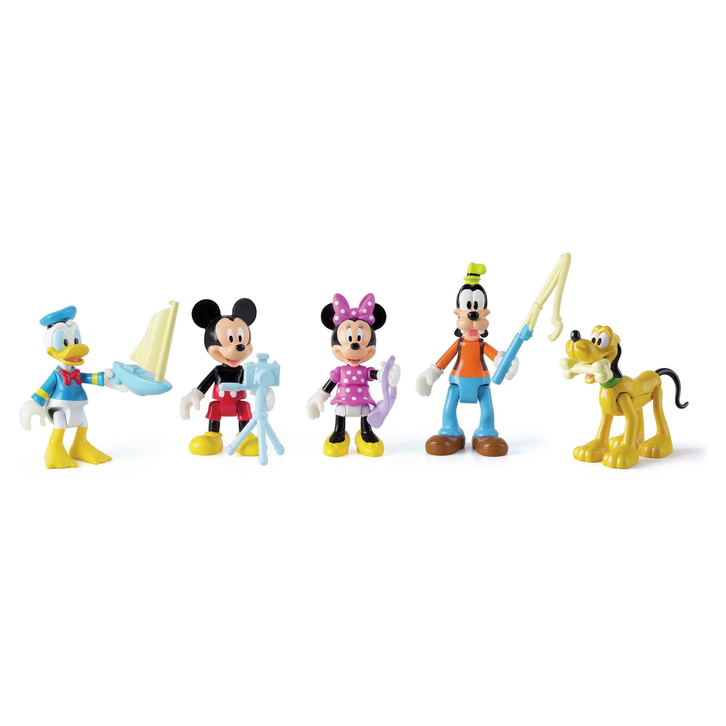 set figurine clubul lui mickey mouse - aventura