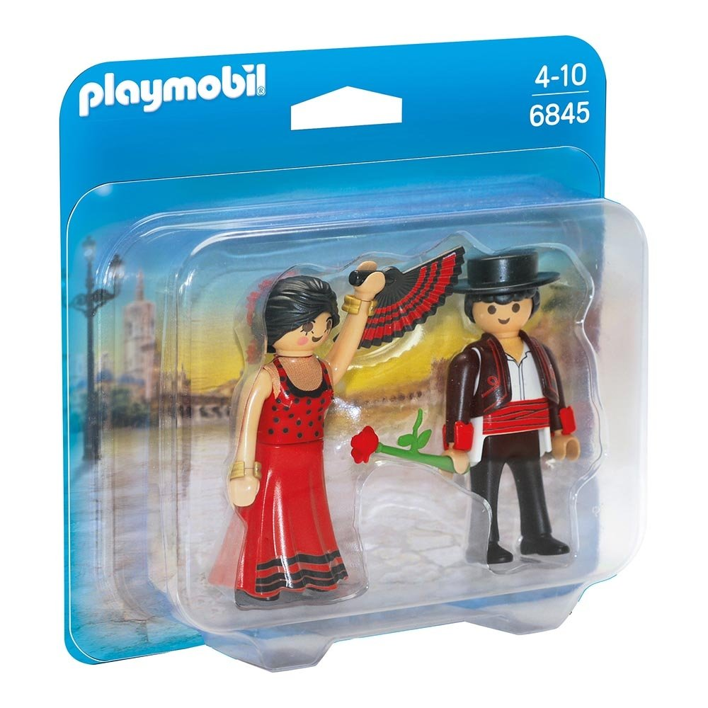 set figurine playmobil family fun - dansatori flamenco (6845)