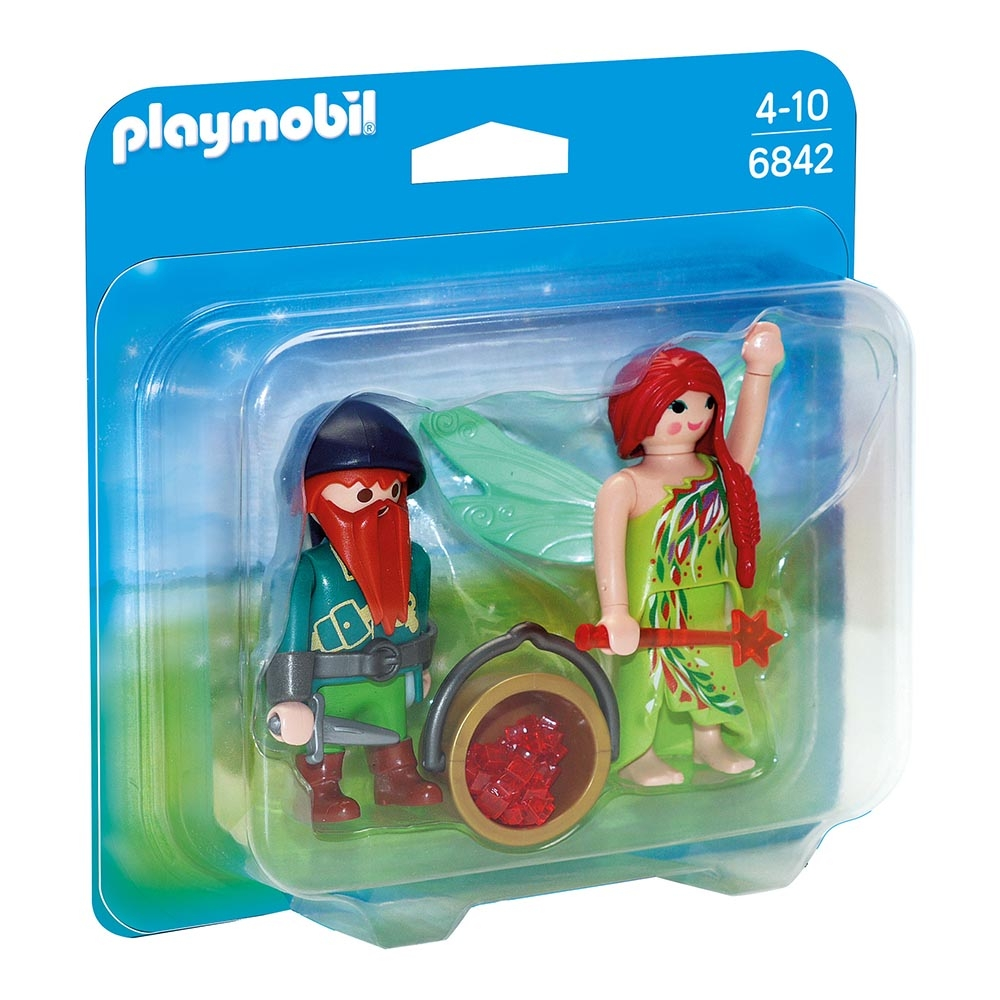 set figurine playmobil princess - elf si pitic (6842)