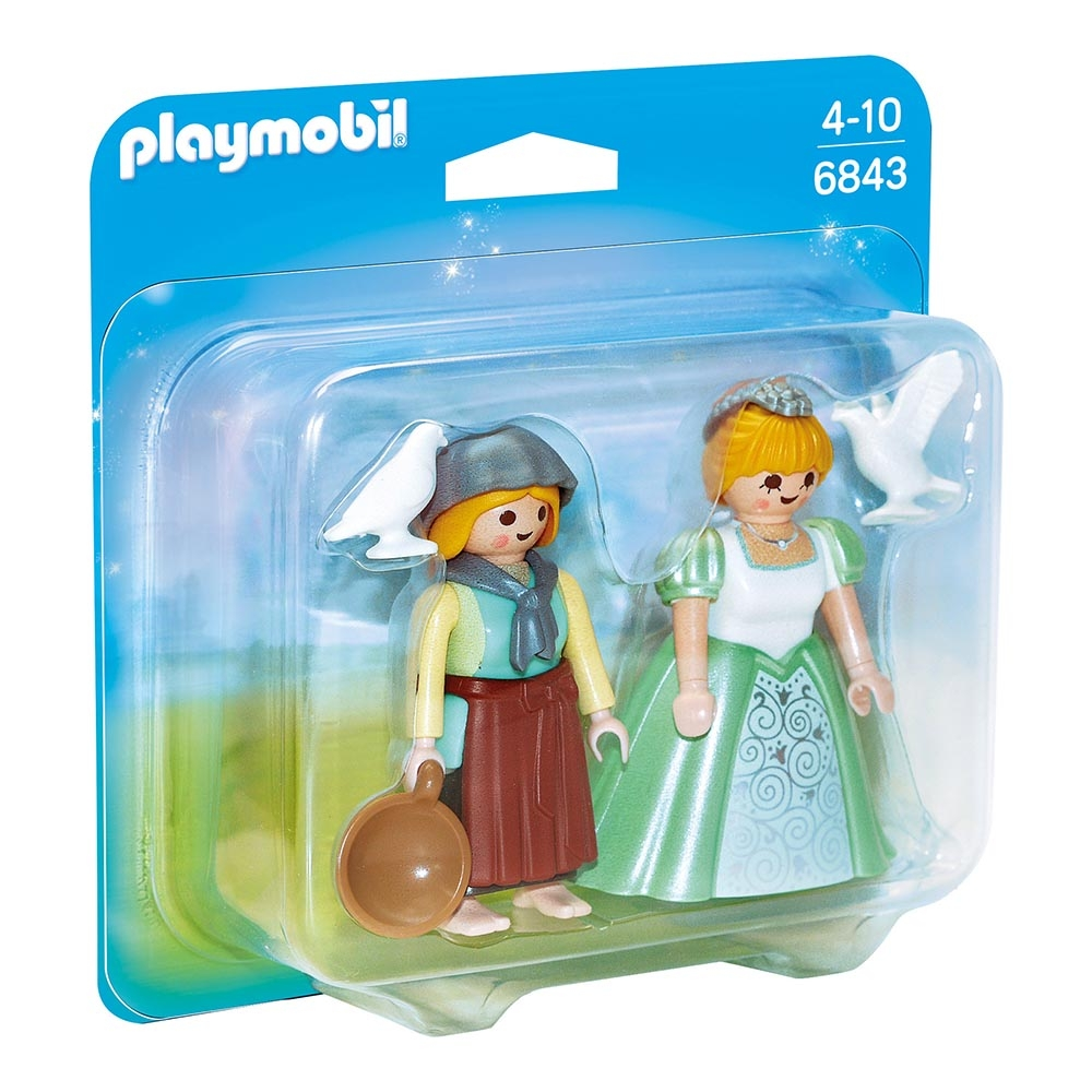 set figurine playmobil princess - printesa si slujnica (6843)