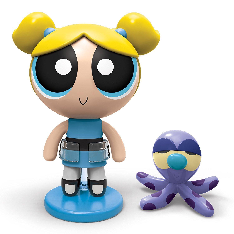 set figurine powerpuff girls bubbles si animalut