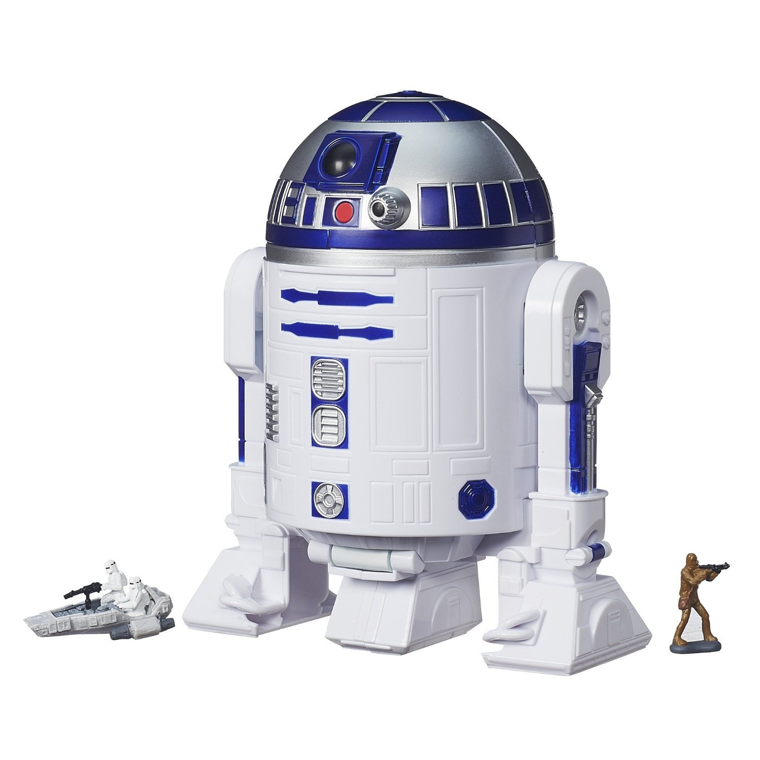 set figurine star wars the force awakens set micro machines, r2-d2