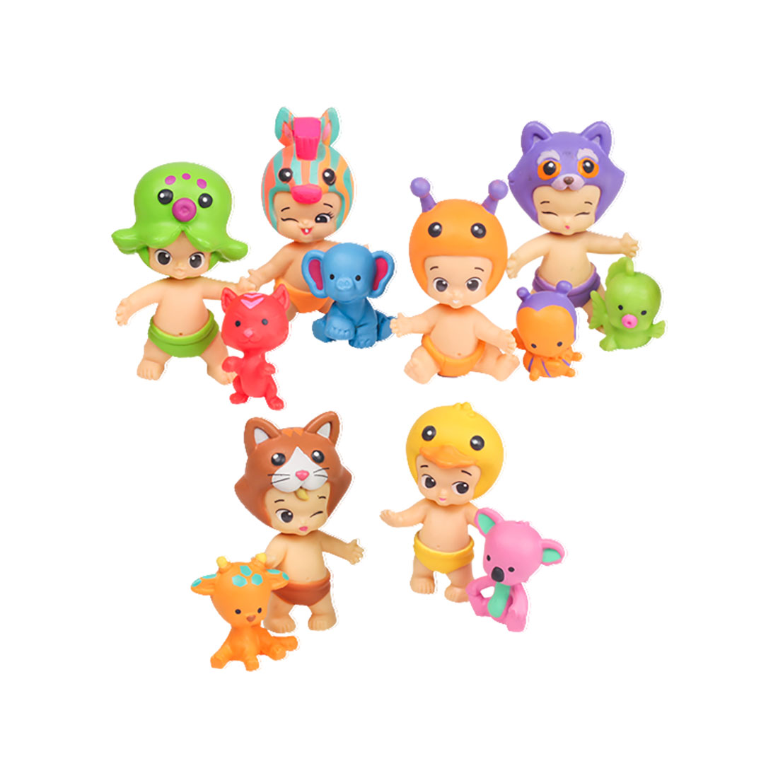 set figurine twozies - twogether pack