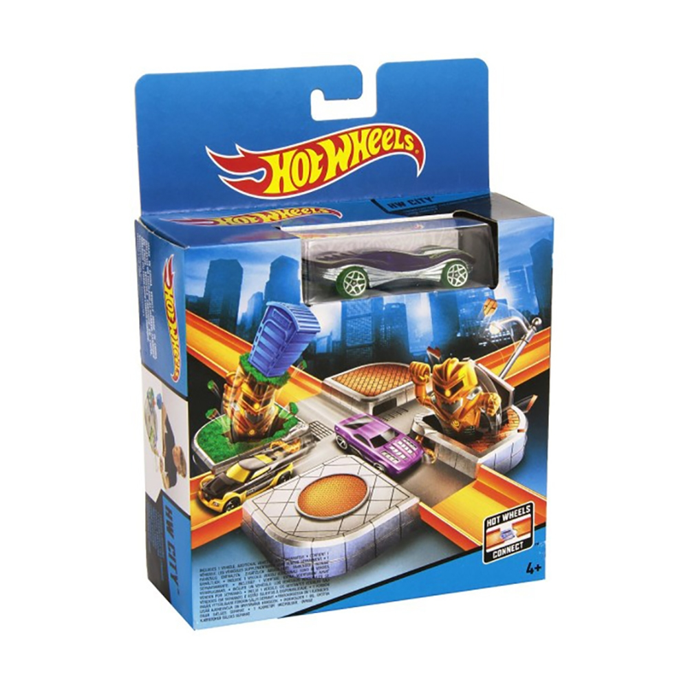 set hot wheels - city
