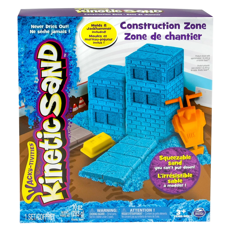 Set Kinetic Sand Set Constructii / Inghetata