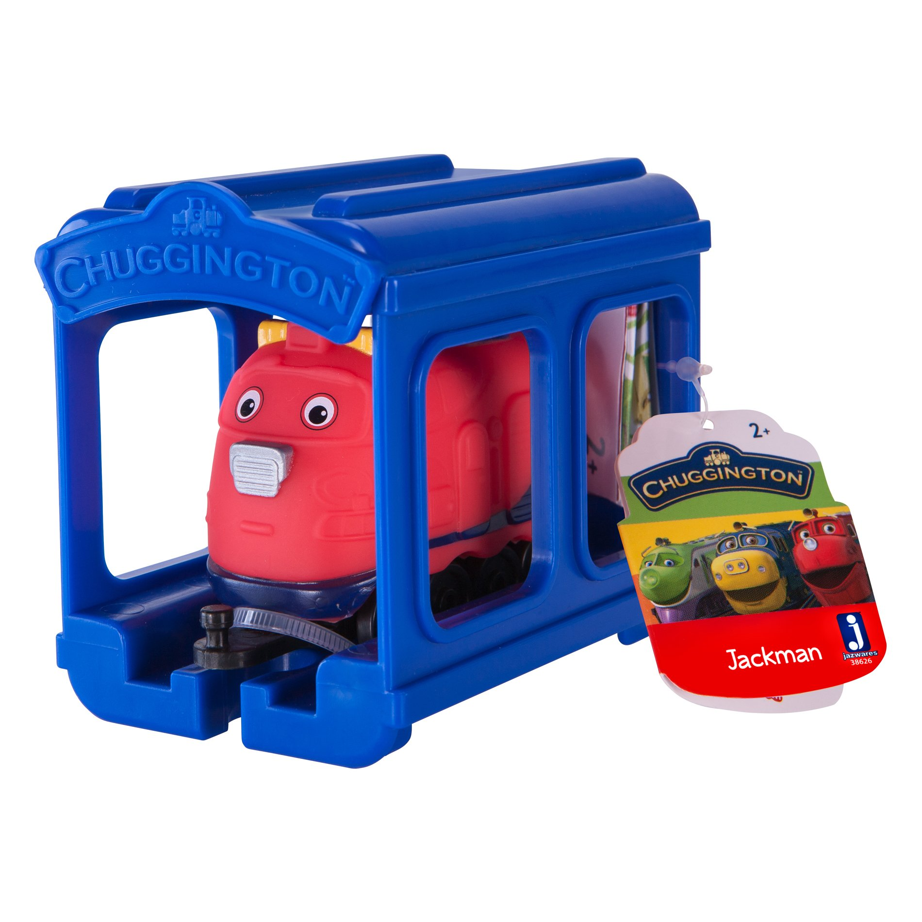 Set locomotiva si garaj Chuggington - Jackman