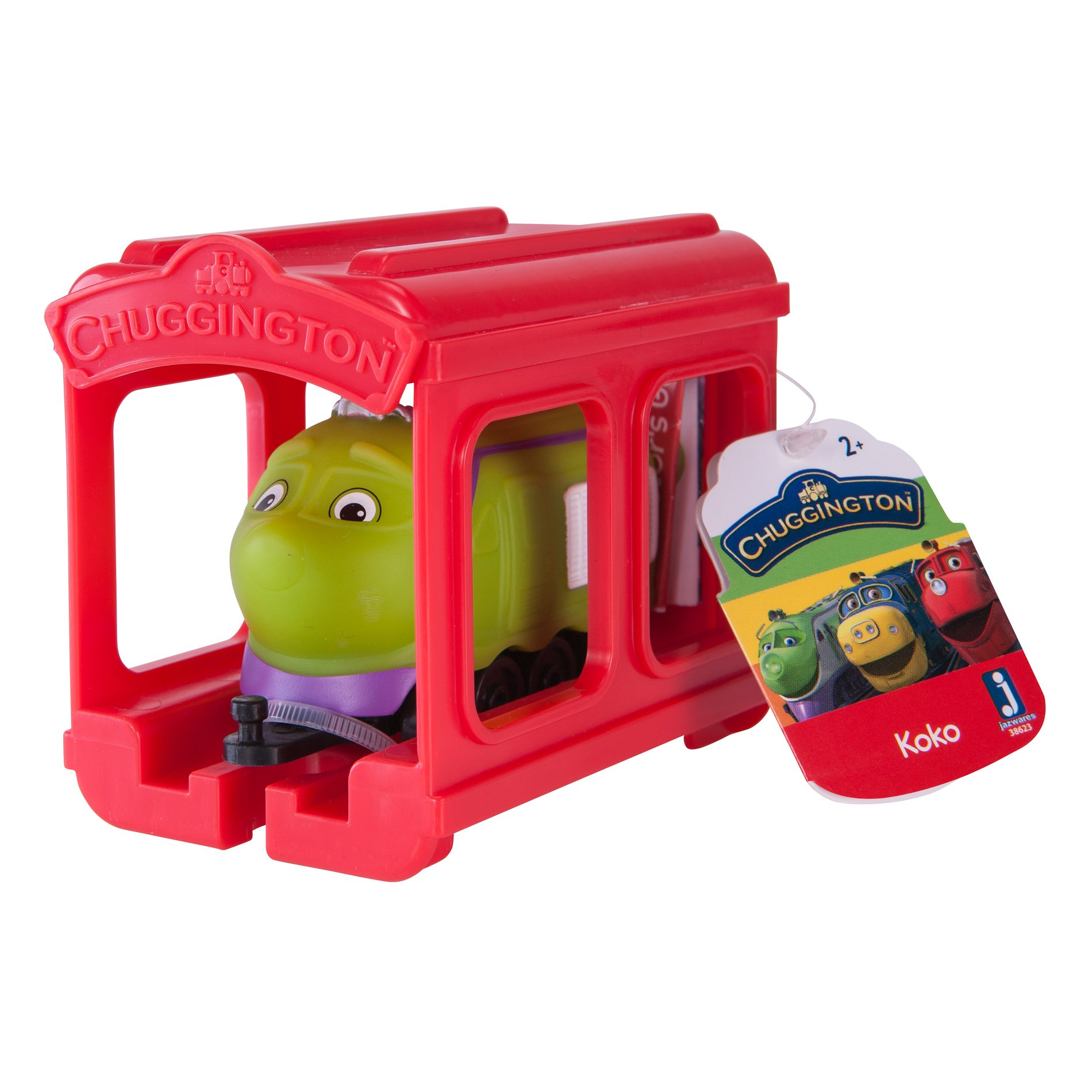 set locomotiva si garaj chuggington - koko