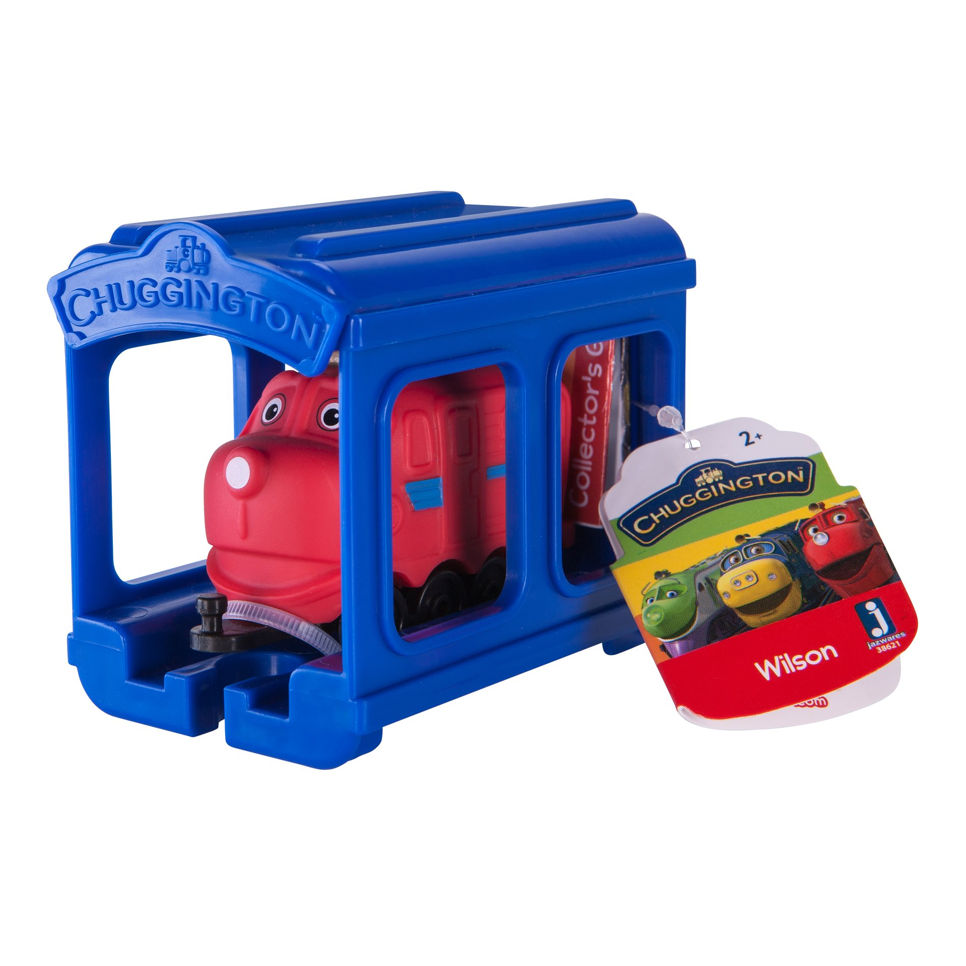Set locomotiva si garaj Chuggington - Wilson