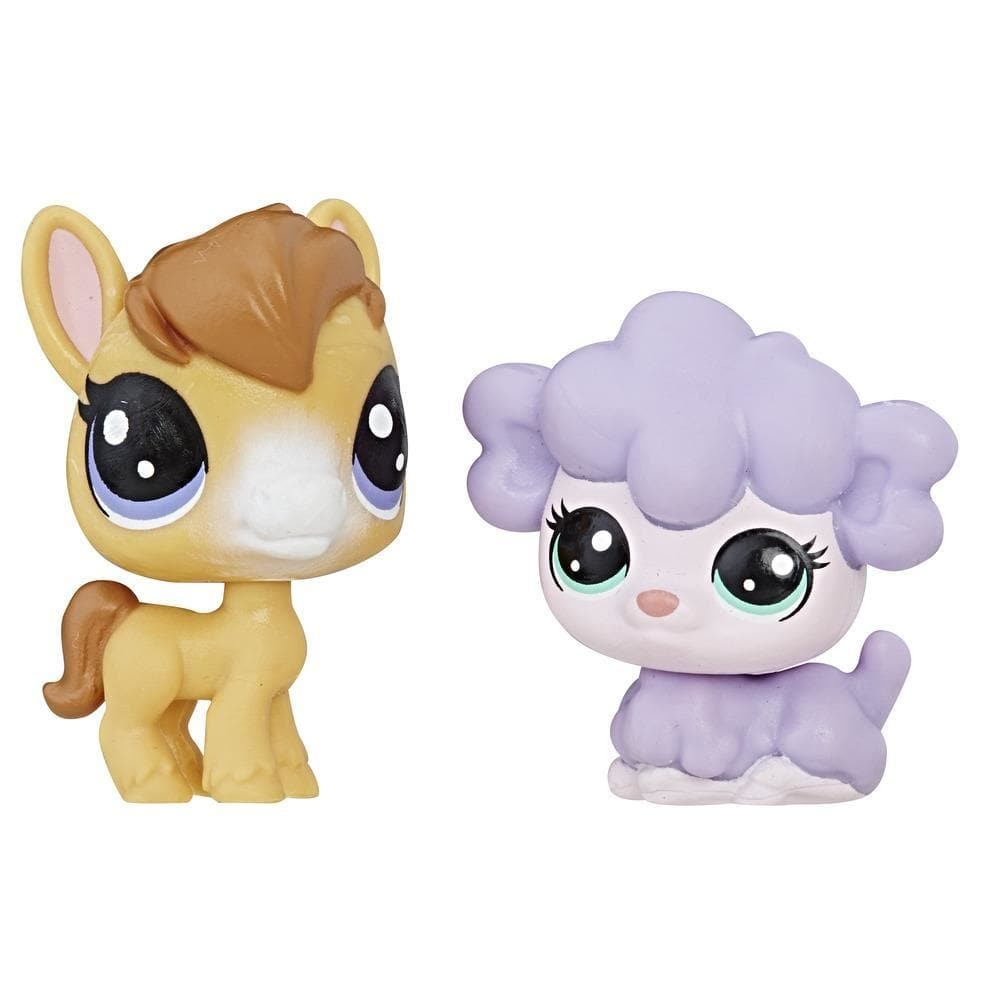 set minifigurine littlest pet shop seria 1 - dru mchoff & kimmy lambton