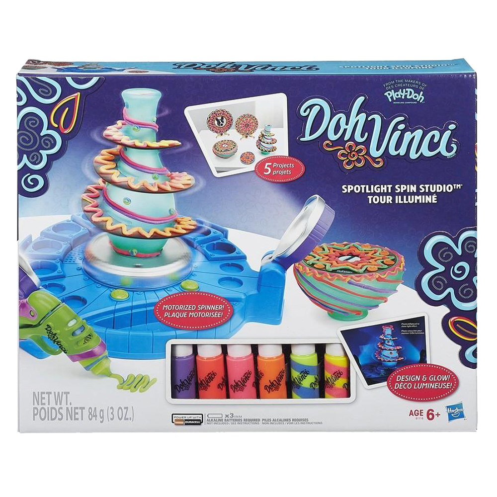 Set pentru decorare DohVinci - Studioul rotativ