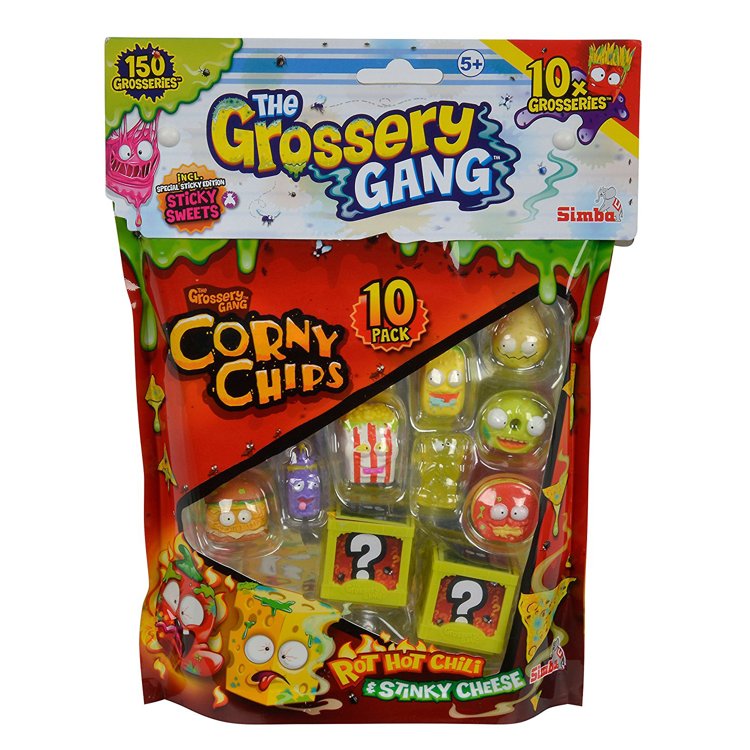 set tematic cu figurine the grossery gang - corny chips