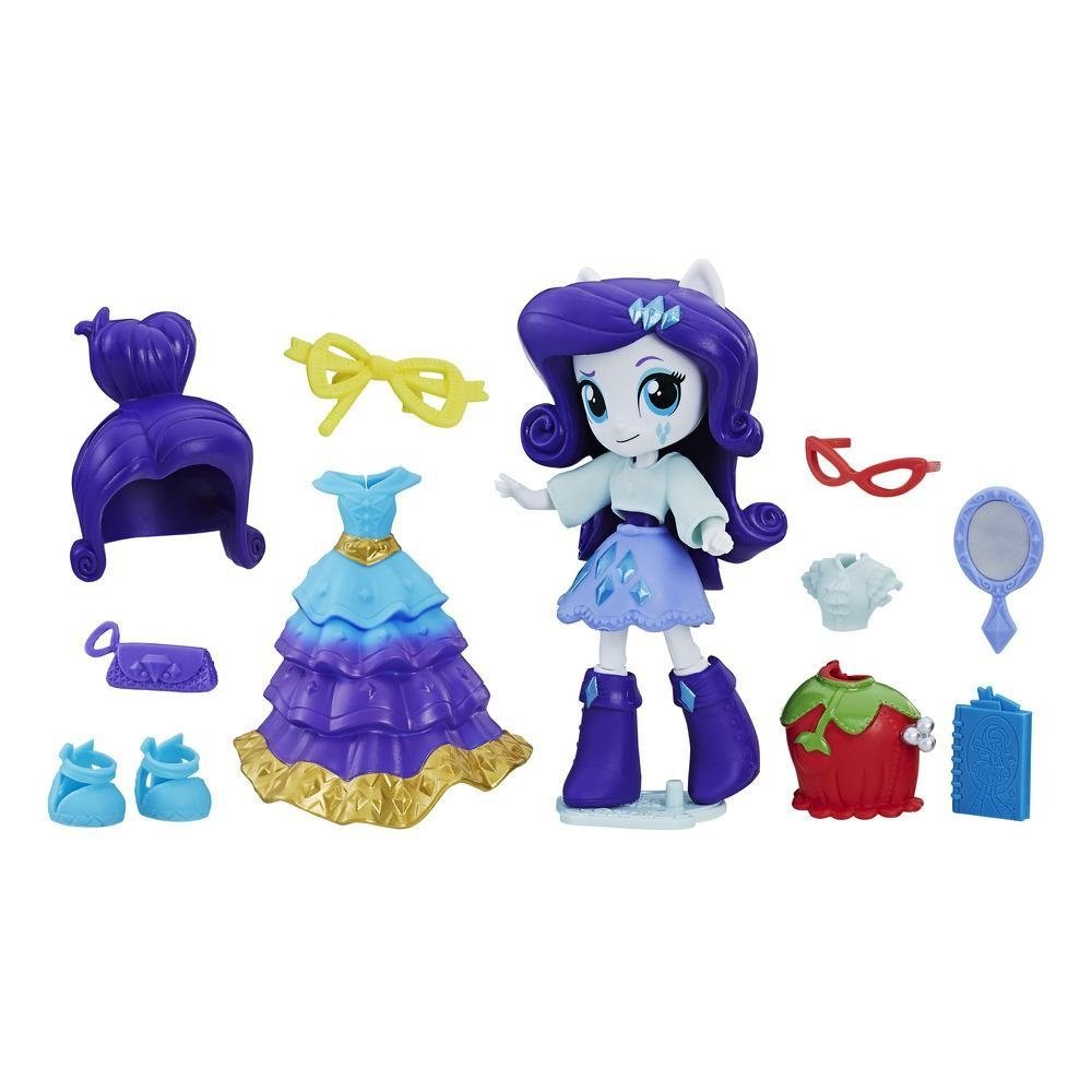 set tematic my little pony equestria girls minis switch'n mix fashions - rarity