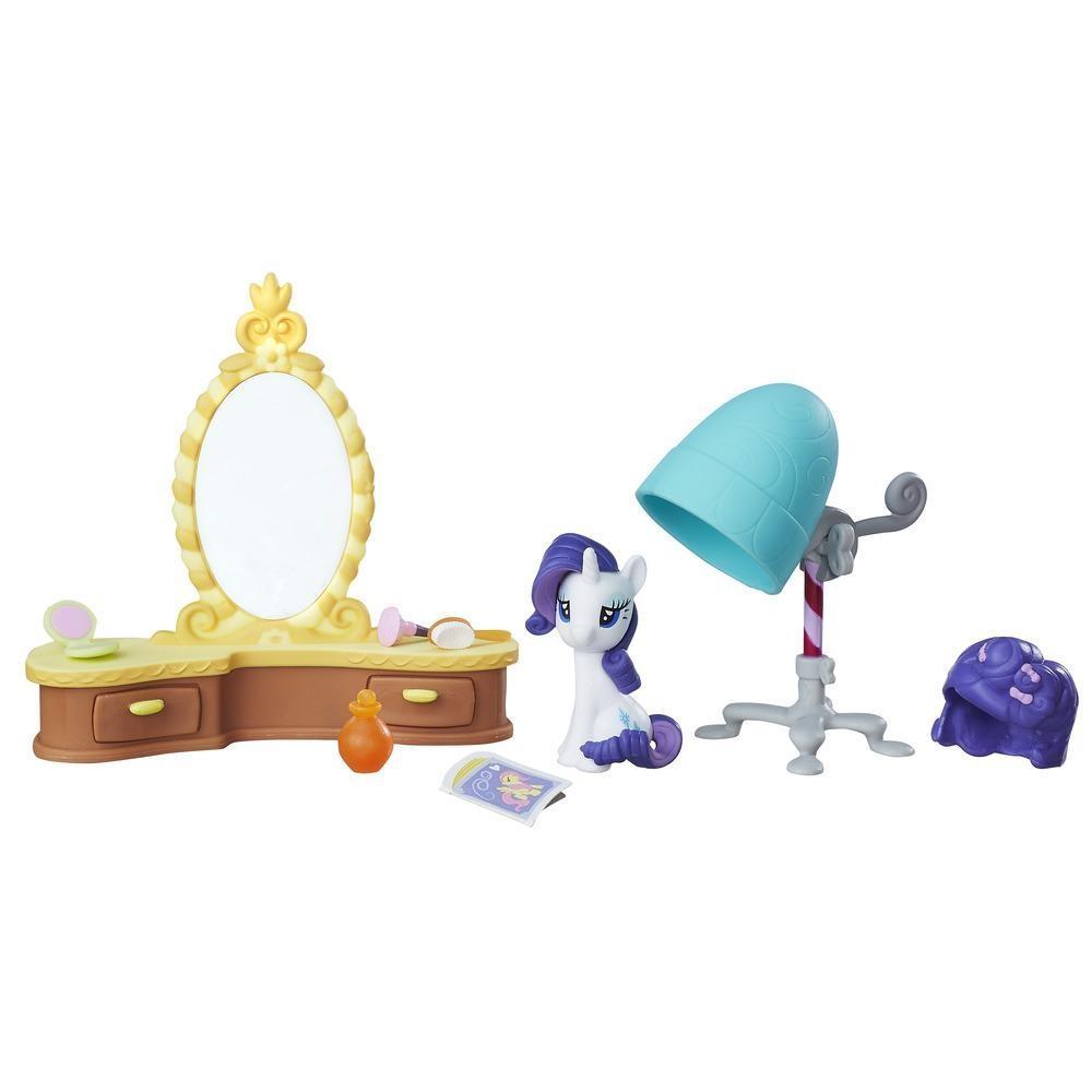 set tematic my little pony friendship is magic - salonul lui rarity