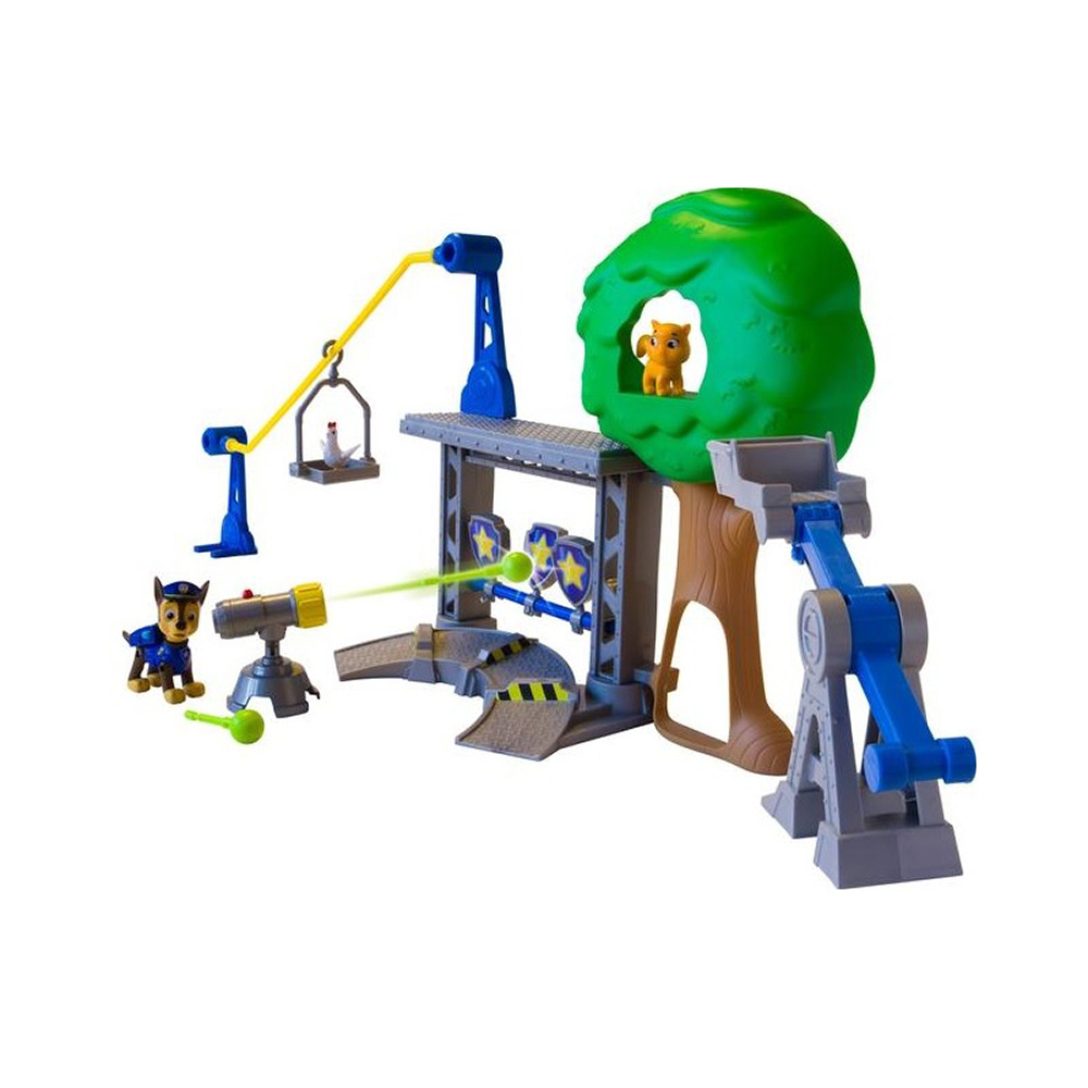 set tematic paw patrol - rescue training center