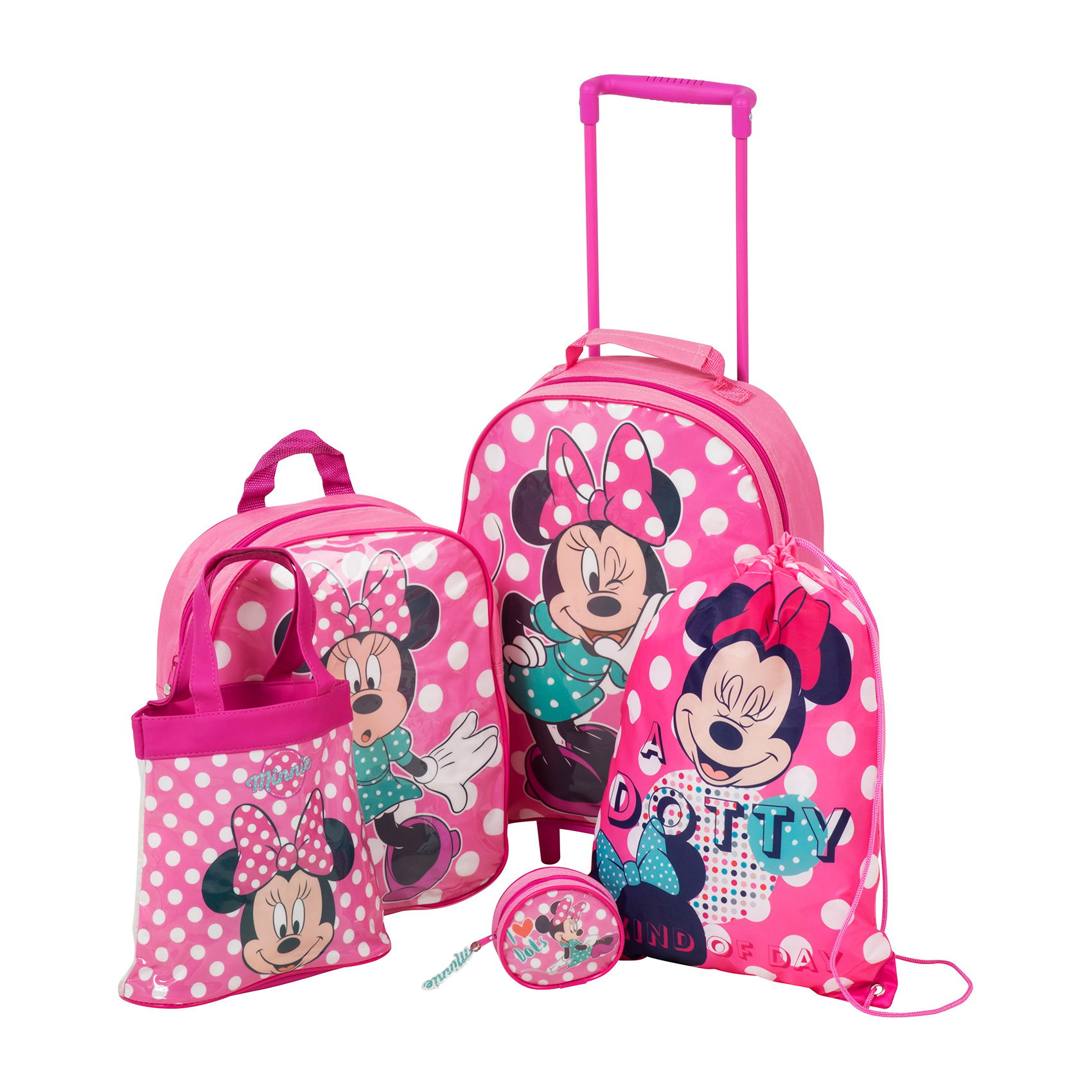 set troler minnie mouse - 5 piese