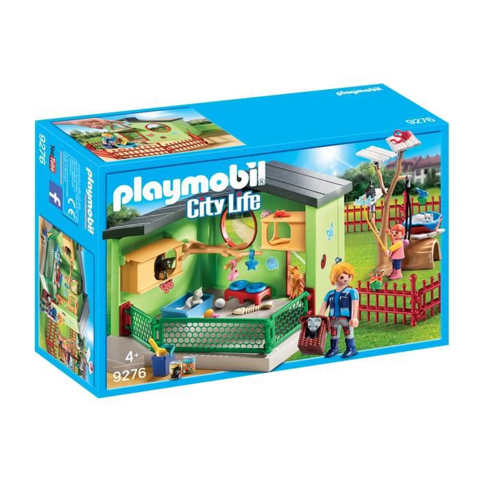Set figurine Playmobil - Hotel pentru pisicute (9276)
