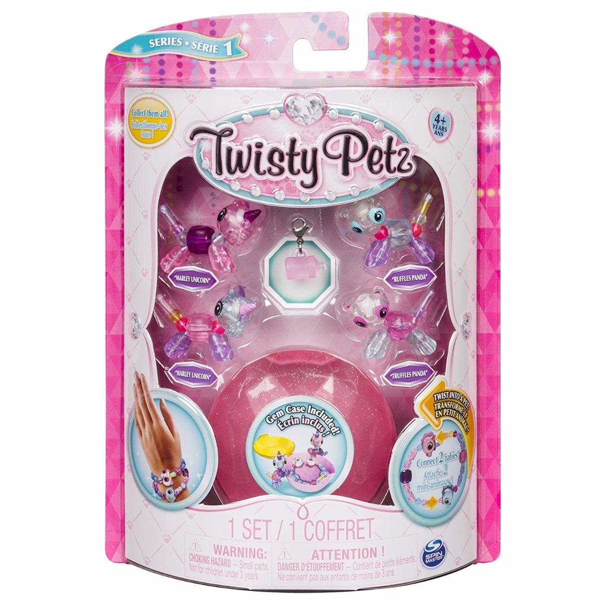 Set 4 bratari Twisty Pets PK 6, 20103020