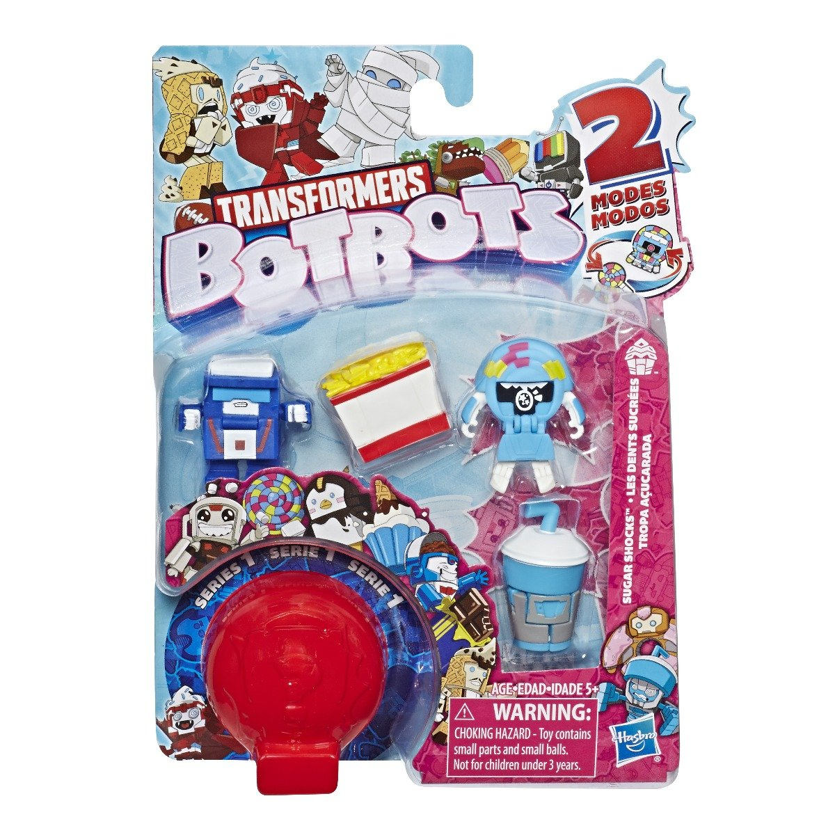 Set 5 figurine BotBots Sugar Socks
