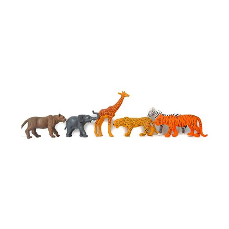 Set 6 figurine Animale salbatice jungla Toy Major
