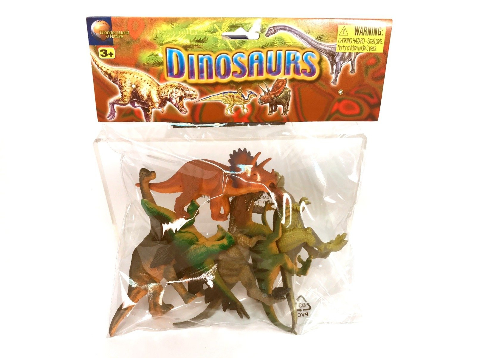 Set 6 figurine Dinozauri