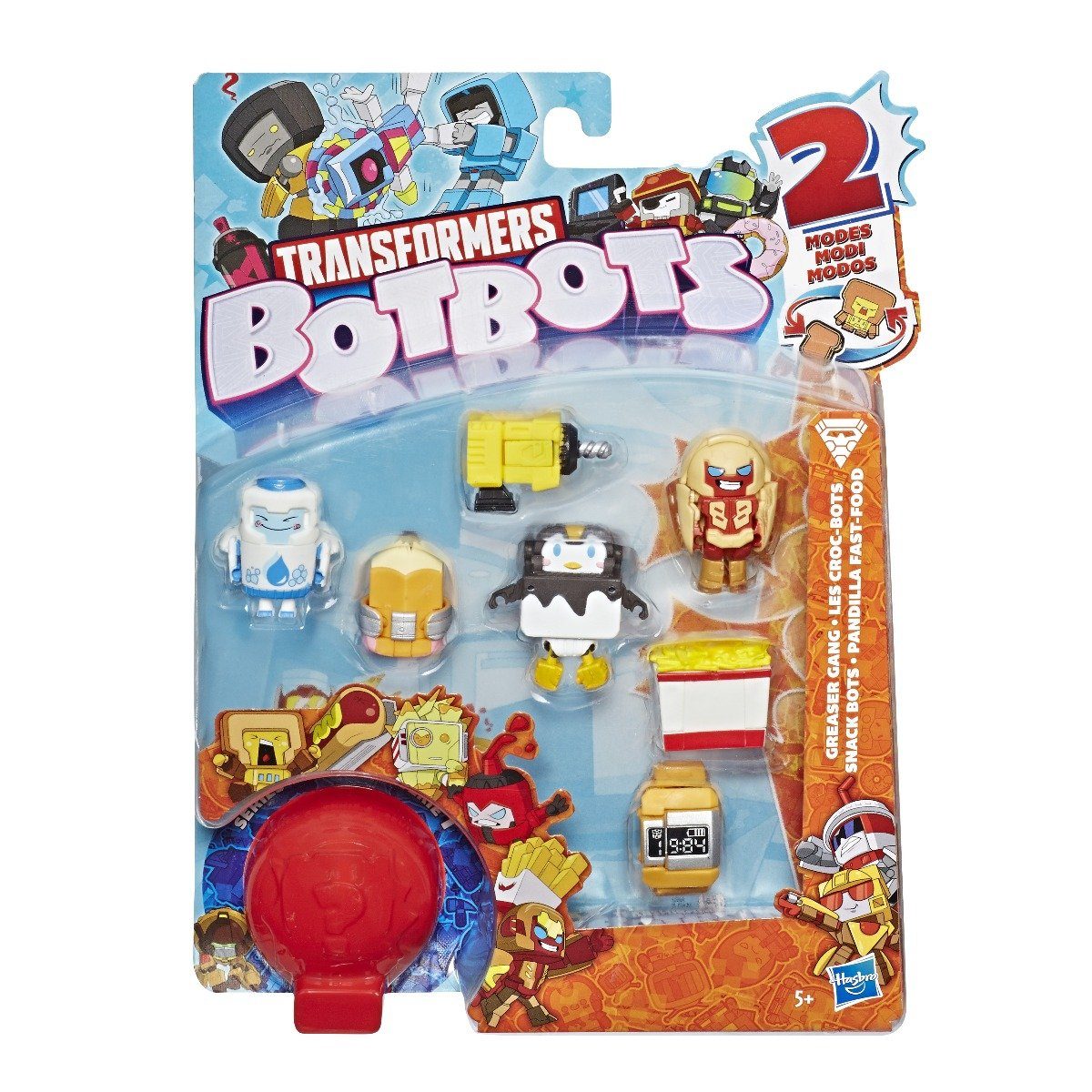 Set 8 figurine BotBots Greaser Gang