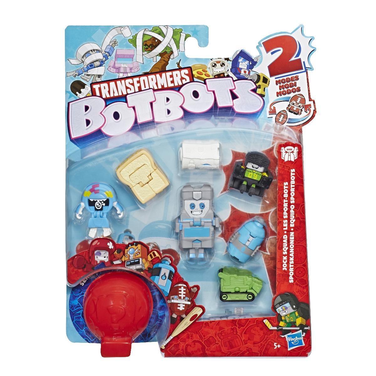 Set 8 figurine BotBots Jock Squad