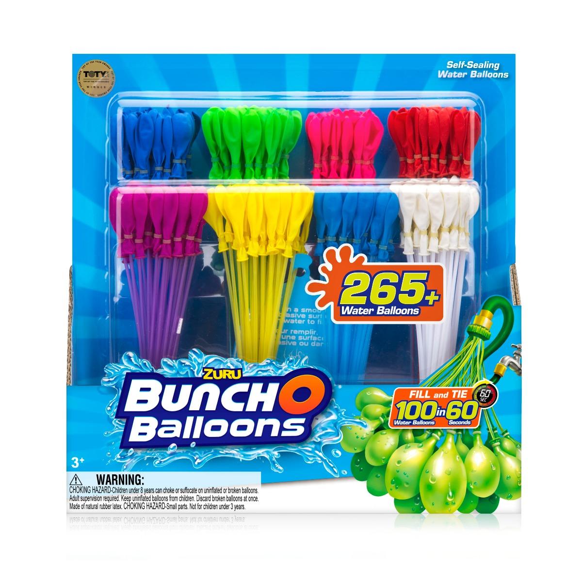 Set baloane pentru apa Zuru Bunch O Balloons, 265+ buc