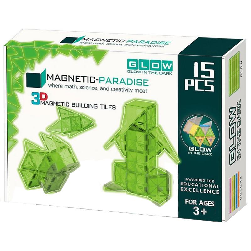 Set De Constructie Magical Magnet-paradise 3d, 15 Piese