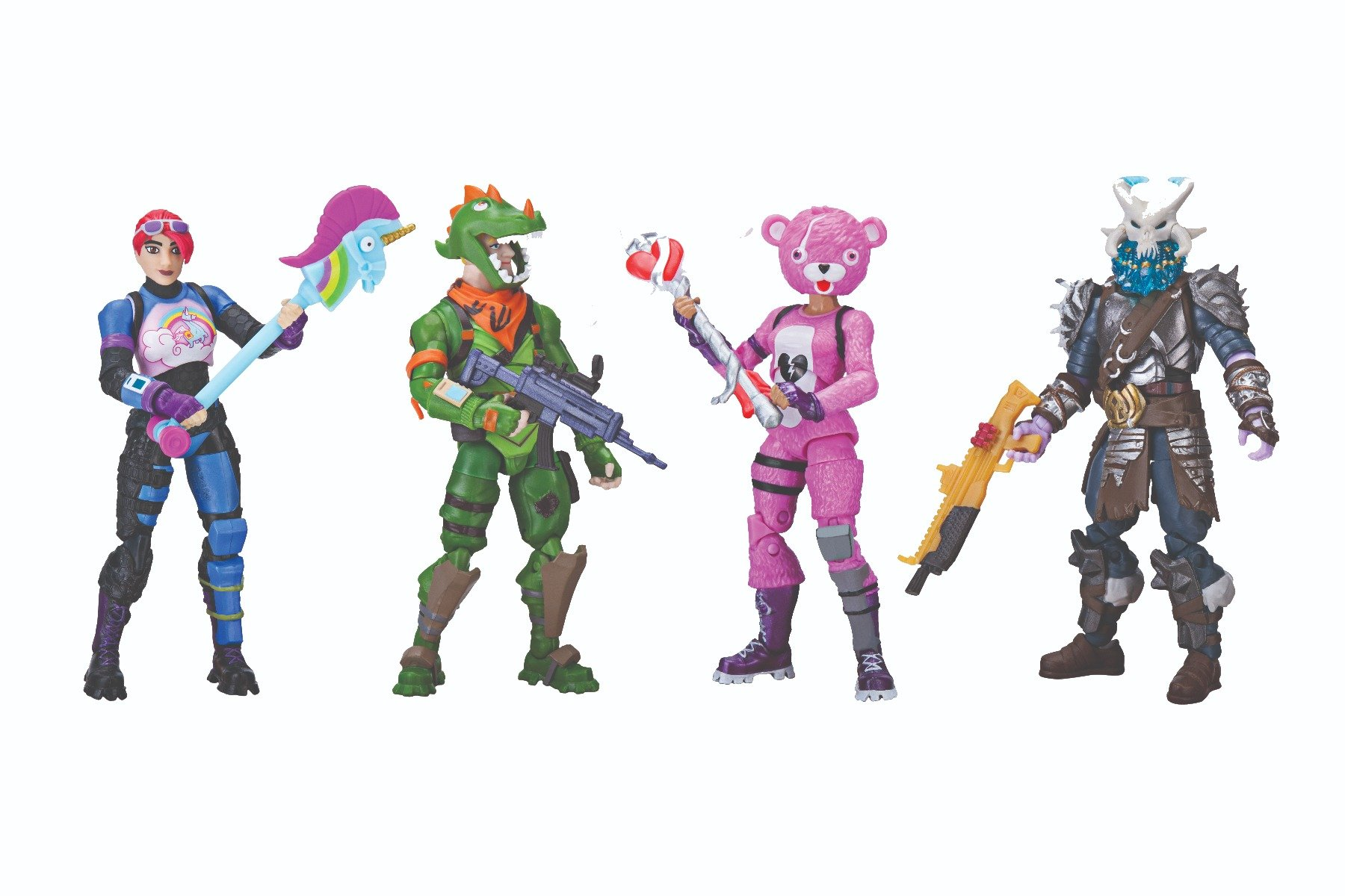 Set de joaca Fortnite Squad Mode 4 figurine
