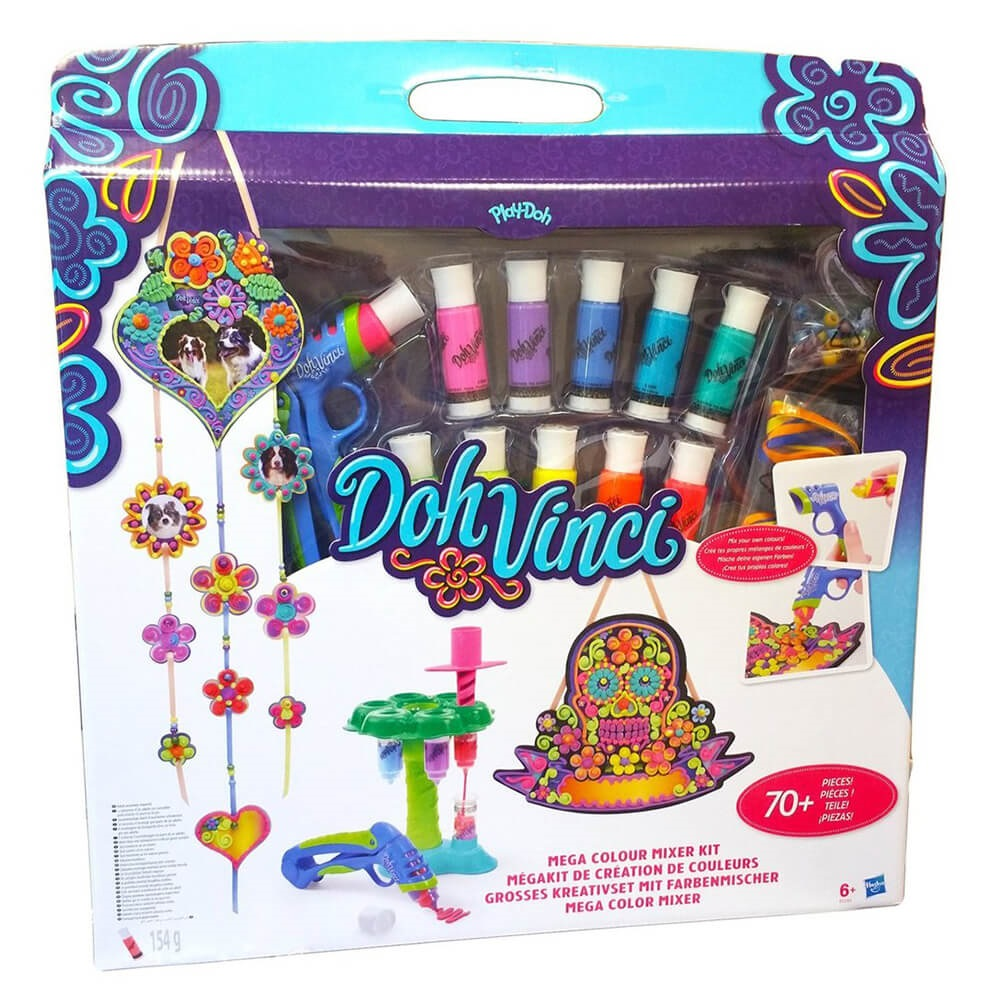 set de modelare dohvinci, kit mega color mixer