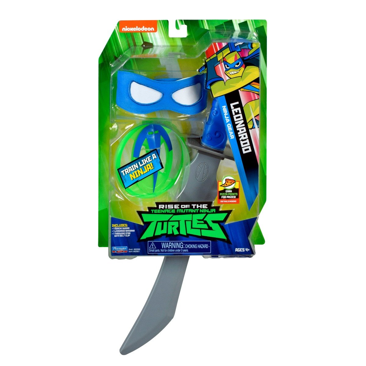 Set masca si accesorii Testoasele Ninja Leonardo Ninja Gear