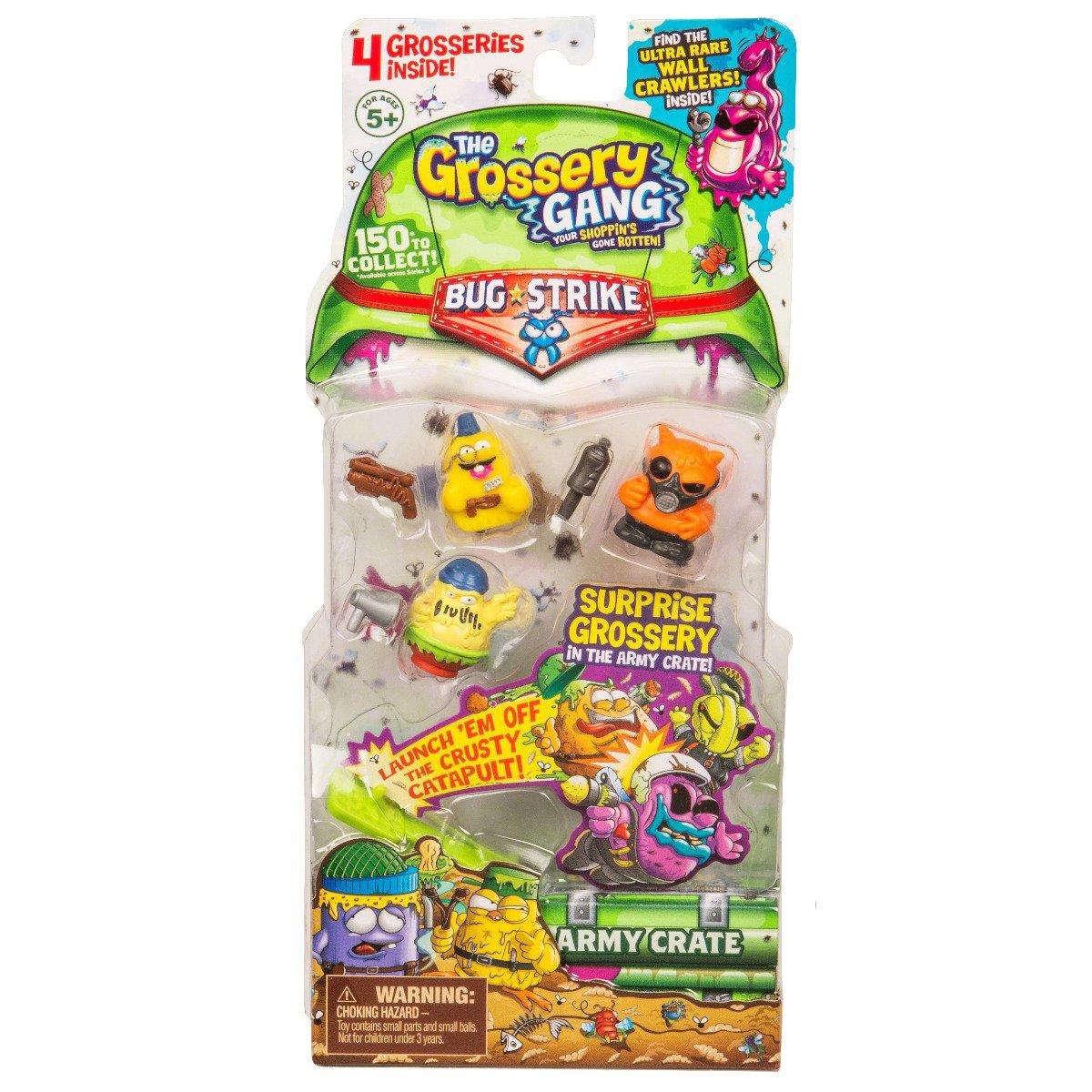 Set figurine Grossery Gang (4 figurine) - Sezonul 4 69099TGG