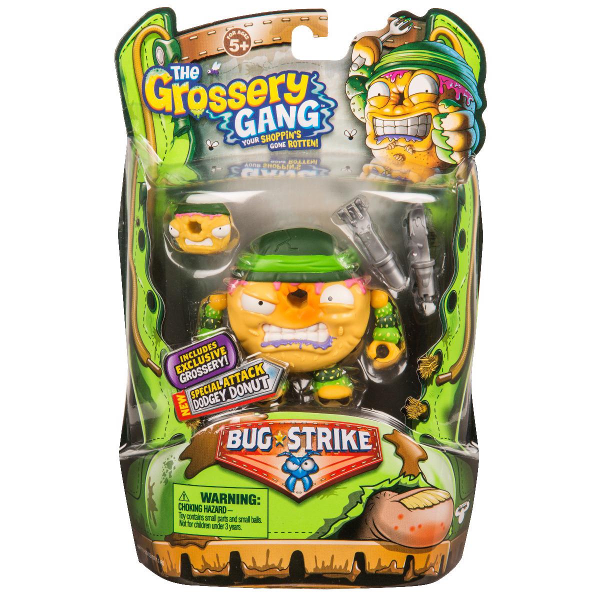 Set figurine Grossery Gang Dodget Donut - Sezonul 4