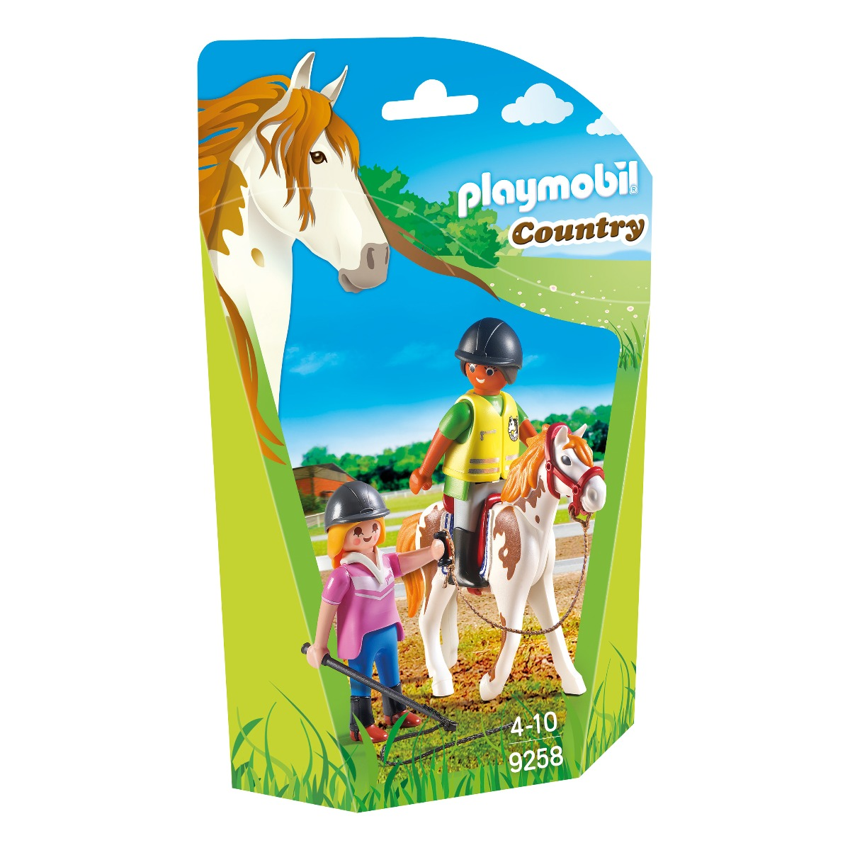 set figurine playmobil country - instructor calarie (9258)