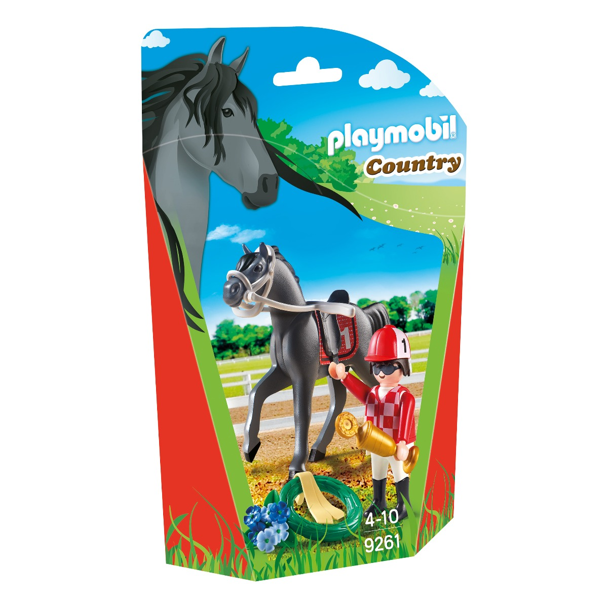 set figurine playmobil country - jocheu (9261)