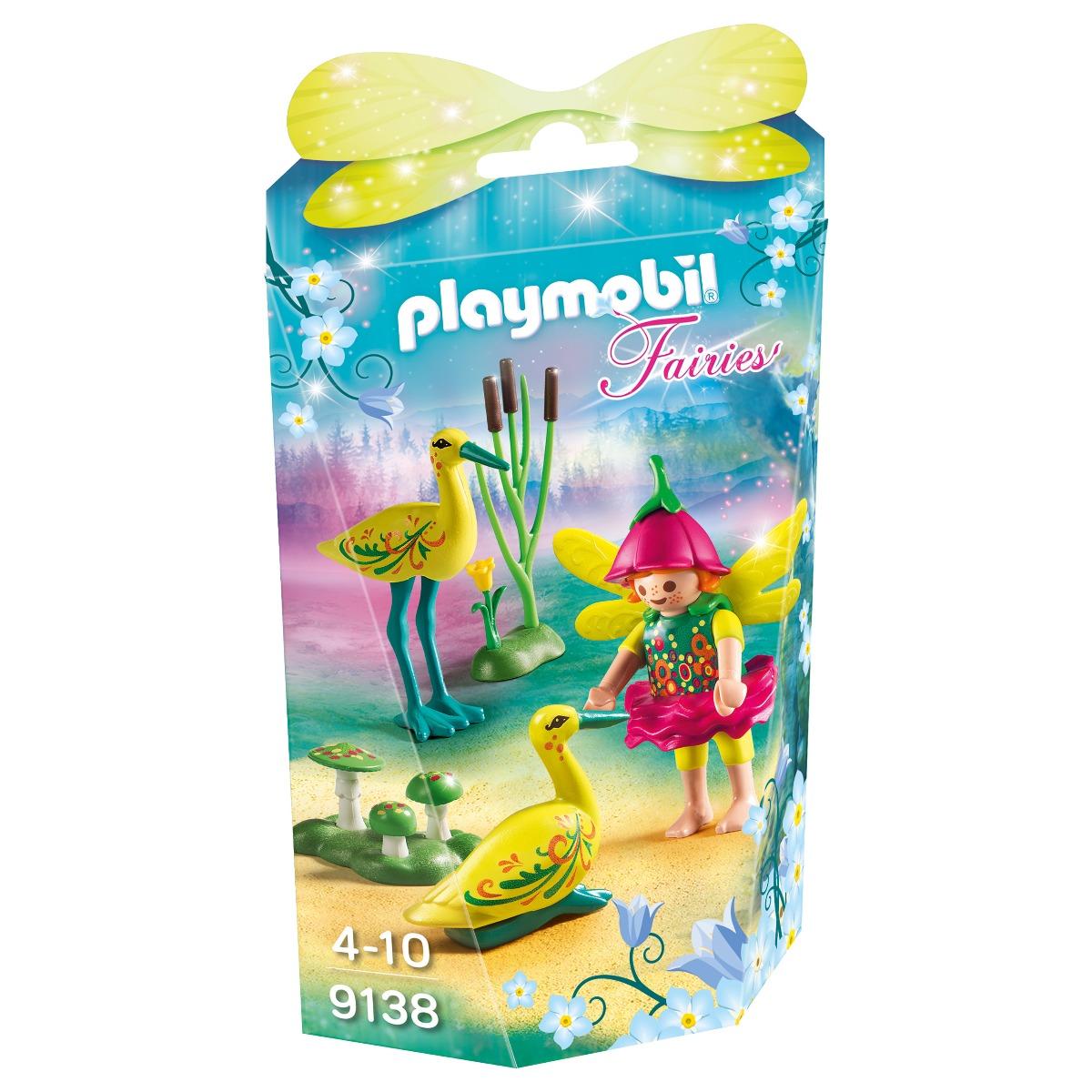 set figurine playmobil fairies - zana cu berze (9138)