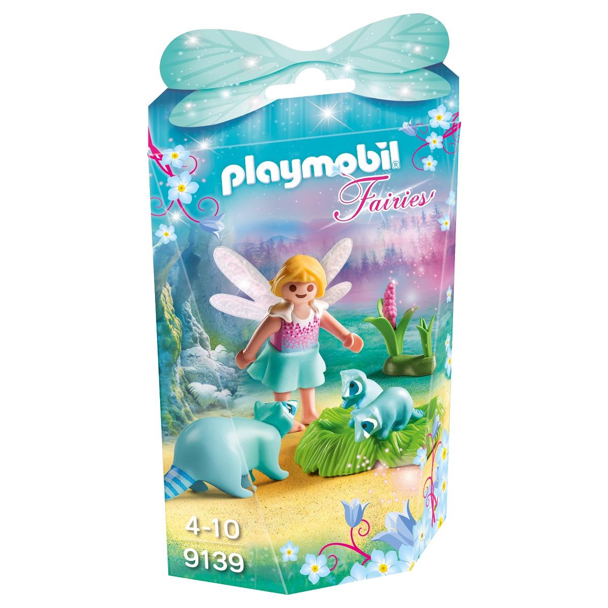 set figurine playmobil fairies - zana cu ratoni (9139)