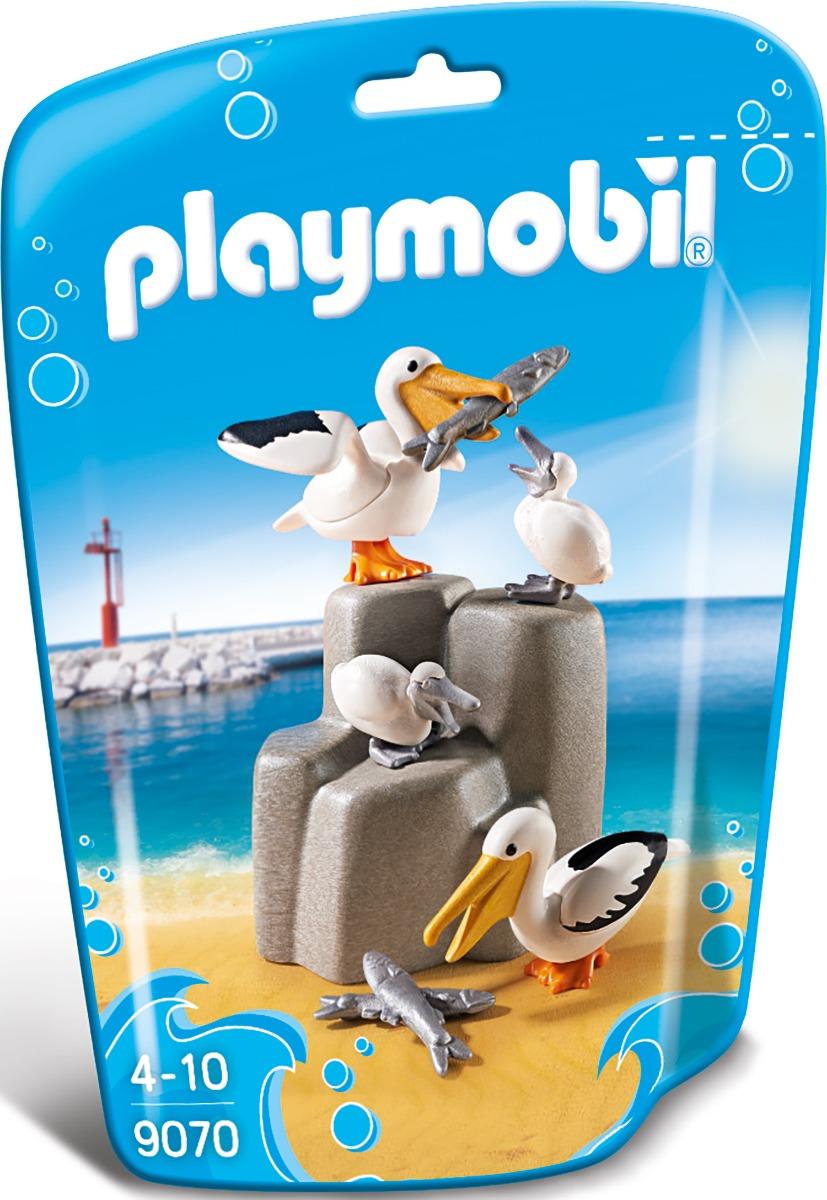 set figurine playmobil family fun - familia pelicanilor (9070)