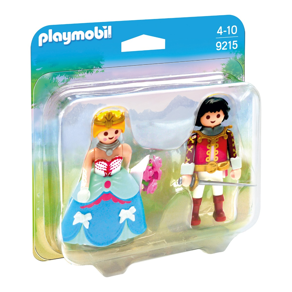 set figurine playmobil princess - print si printesa (9215)