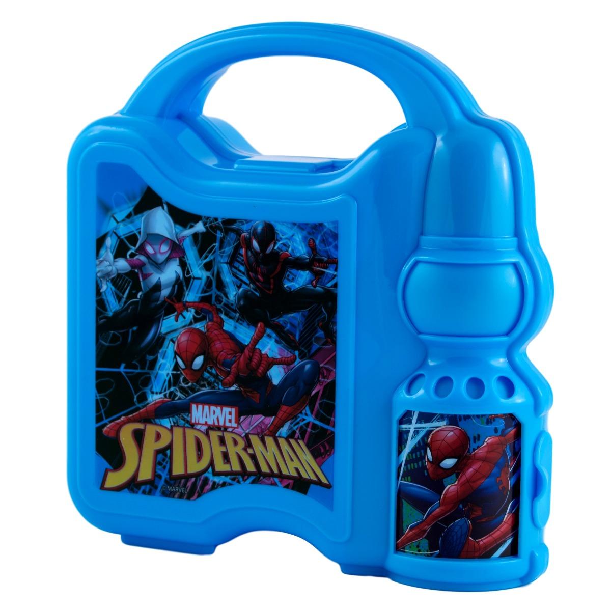 Caserola pentru pranz cu sticla de apa Spiderman imagine