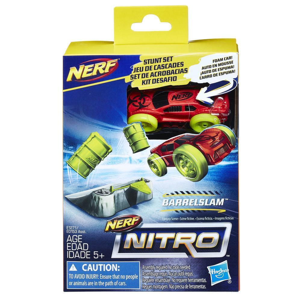 Set masinuta Nerf Nitro si rampa de cascadorii